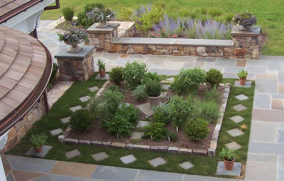 Herb Garden Ideas For Patio Design Home Design Ideas